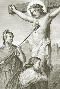 sveti Longin - vojak in mučenec
